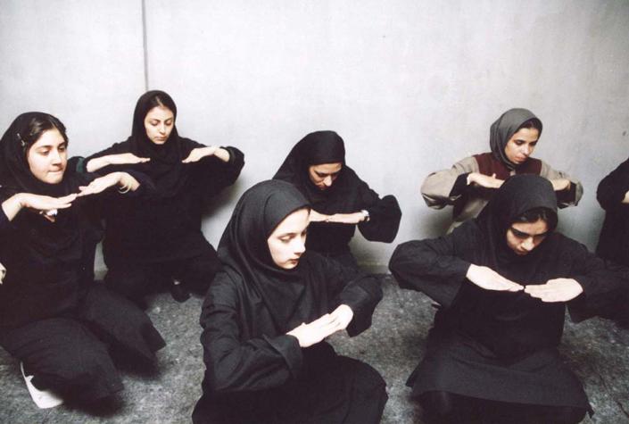 IRAN, VEILED APPEARANCES