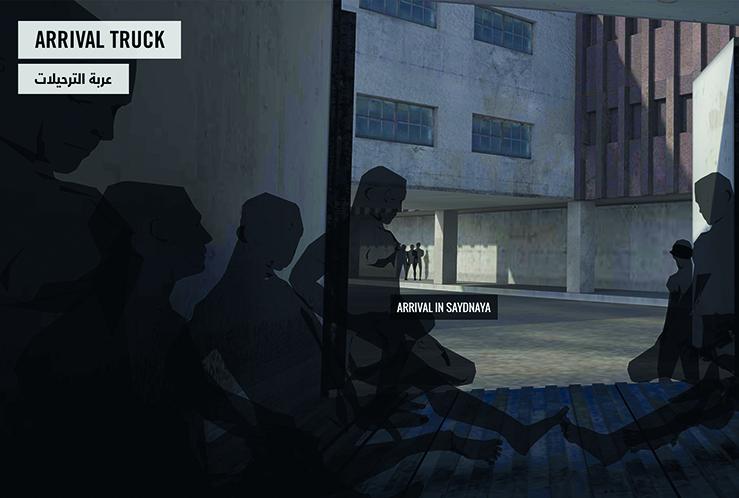 SAYDNAYA – Einblick in ein syrisches Foltergefängnis