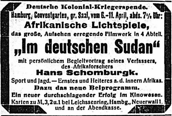 Im deutschen Sudan